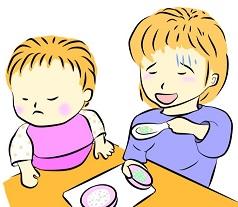 1歳児が離乳食を食べない